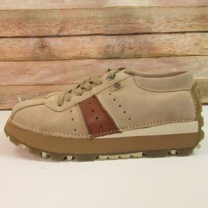 Report 'Dugout II'' Edgy Tan Sued Sneakers 7.5